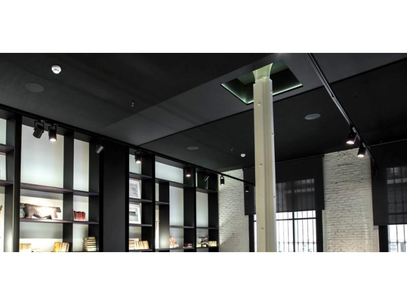 Новинка от компании Экофон – премиальный потолок черного цвета!