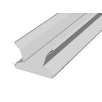 Раскладка для реечного потолка Итальянского дизайна с открытыми стыками 100 мм белый матовый А902
