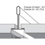 Потолочная плита УЛЬТИМА+ ULTIMA+ Tegular 600x600x19