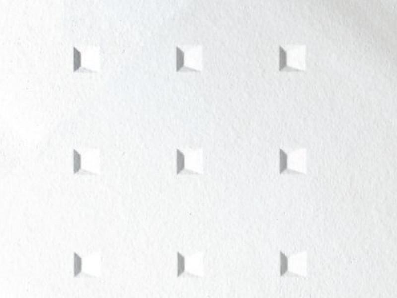 Потолочная плита ГРАФИС КВАДРОС GRAPHIS CUADROS MicroLook 600x600x17