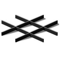 Грильято Эконом 200х200 выс. 40 шир. 10 черный