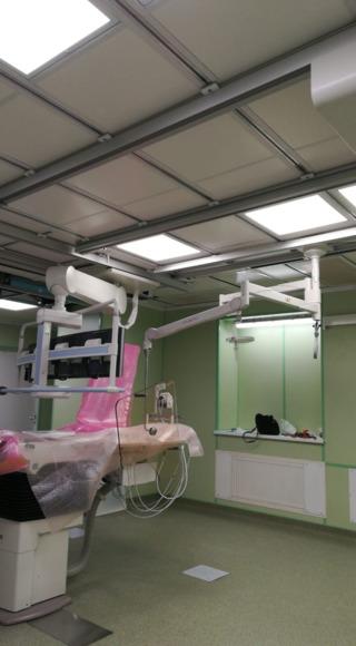 потолочные панели с бактерицидным покрытием